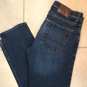 Guys Hollister Jeans Dark Wash